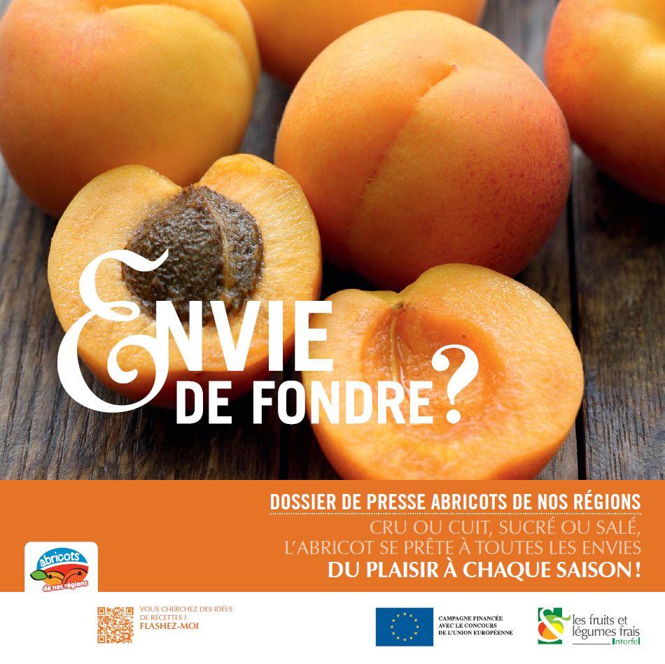 Dossier de presse Abricots de nos régions 2016
